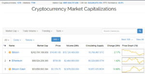 Coin Market Cap screenshot
