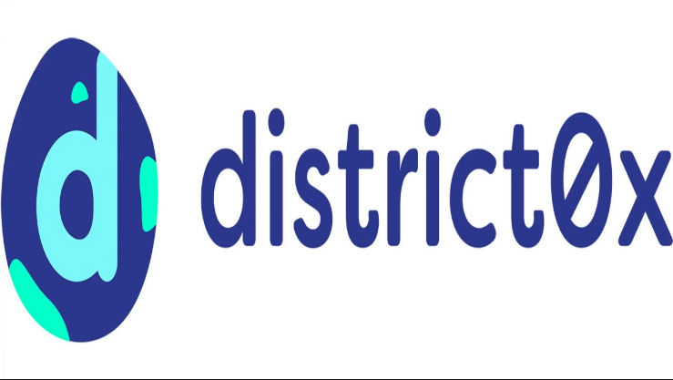 Cryptocurrency District0x logo