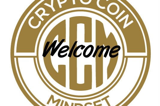 Crypto Coin Mindset welcome logo