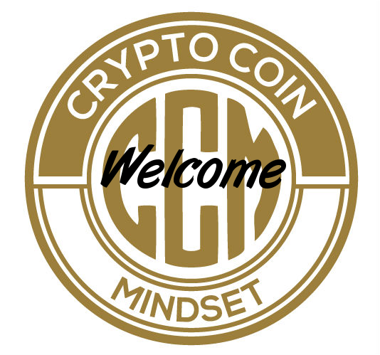 Crypto Coin Mindset welcome logo