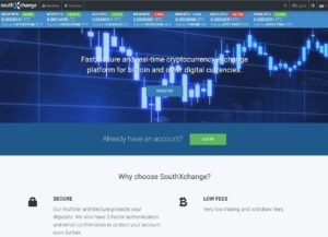 Homepage for SouthXchange