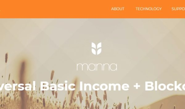 Universal Basic Income program Mannabase MANNA