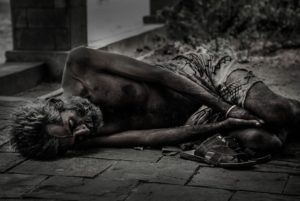 Parts of the world live in utter poverty