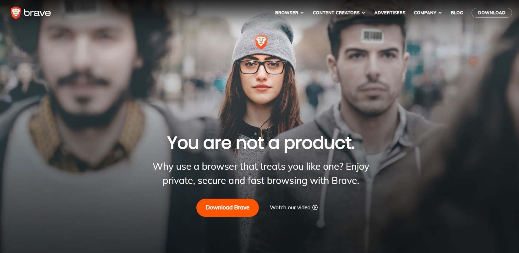 Surf the web in privacy with Brave browser