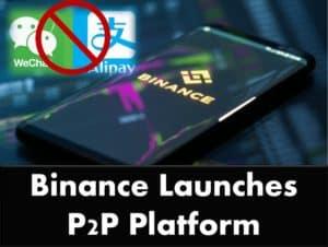 Binance launches P2P platform