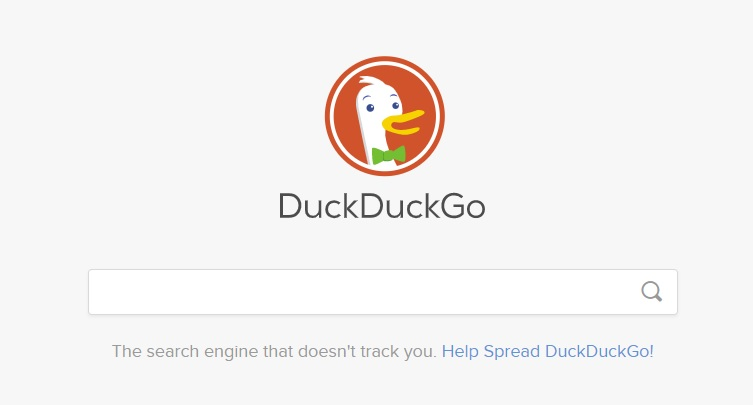 DuckDuckGo privacy search engine