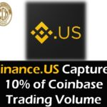 BinanceUS Captures 10 percent of Coinbase Trading Volume