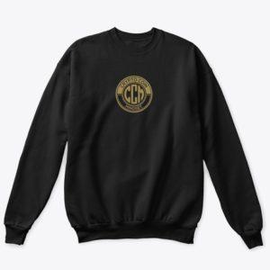 Official CryptoCoinMindSet Logo Classic Crewneck Sweatshirt