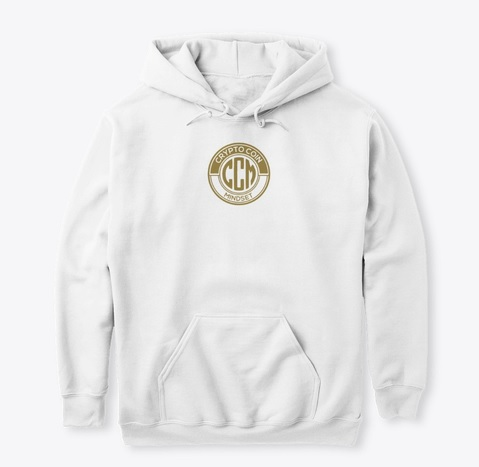 Official CryptoCoinMindSet Logo Classic Pullover Hoodie