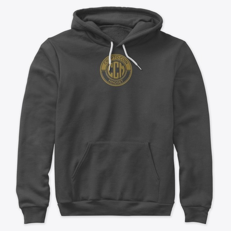 Official CryptoCoinMindSet Logo Premium Pullover Hoodie
