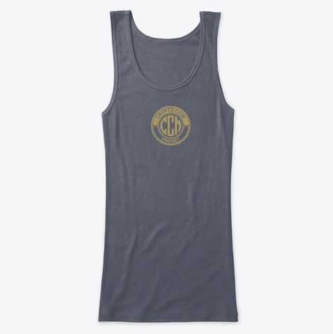Official CryptoCoinMindSet Logo Women's Fitted Tank Top