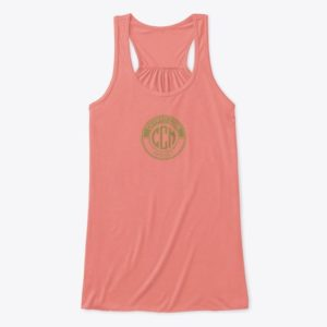Official CryptoCoinMindSet Logo Women's Flawy Tank Top