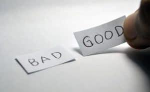 good news vs bad news