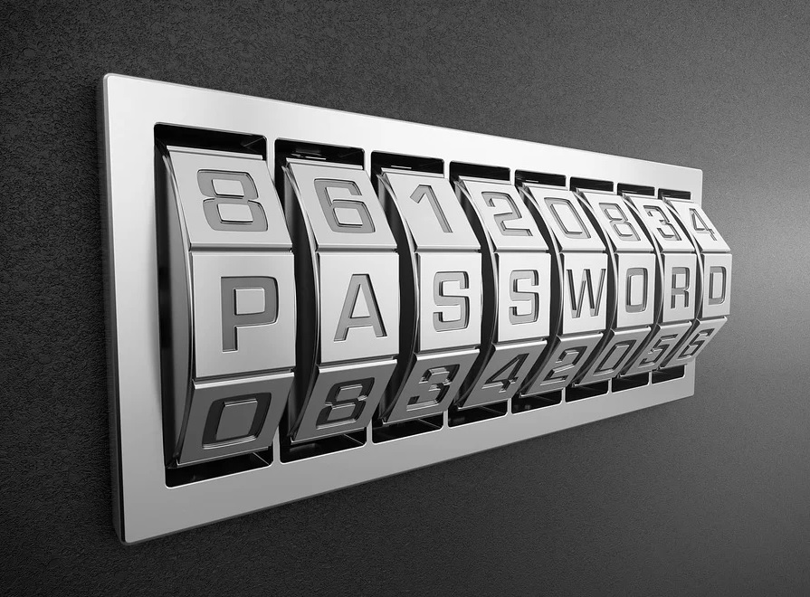 Increase your online security with a strong unique password