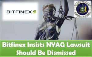 Bitfinex insists NYAG lawsuit should be dismissed