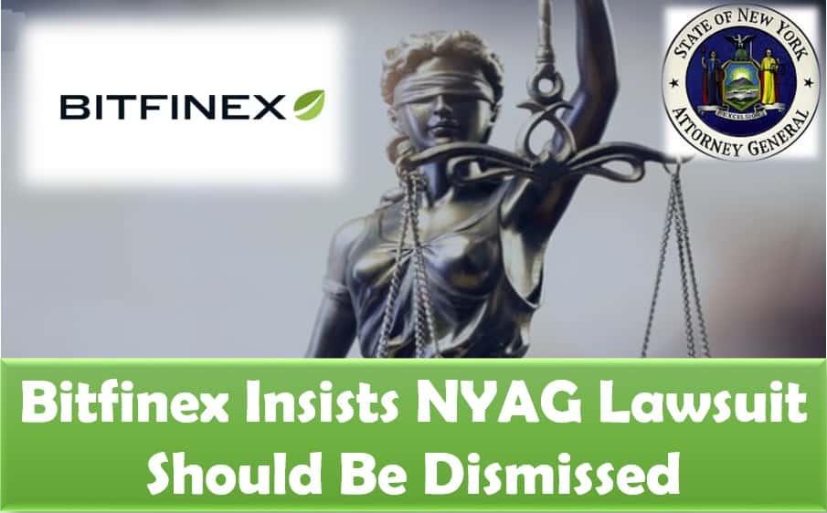 Bitfinex insists NYAG lawsuit should be dismissed