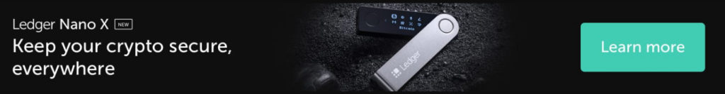 Secure cryptocurrency with Ledger