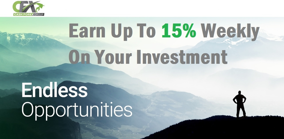 Earn passive crypto income trading in the forex market with CashFX