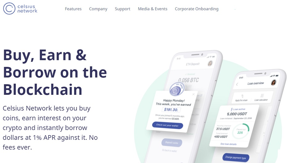 Earn Passive Crypto Income WIth Celsius Network