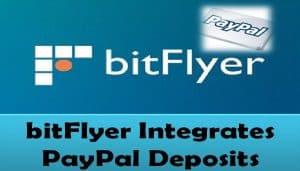 bitFlyer Integrates PayPal Deposits