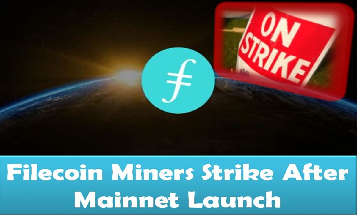 Filecoin Miners Strike After Mainnet Launch