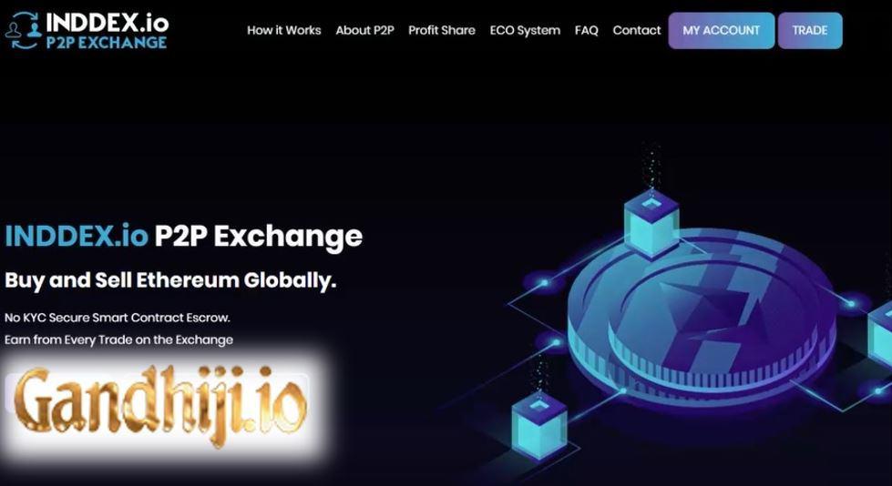 Gandhiji - INDDEX cryptocurrency