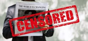 censorship of free speech and ideas