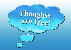 thoughts are free - free speech