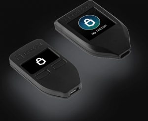 Trezor cryptocurrency wallet