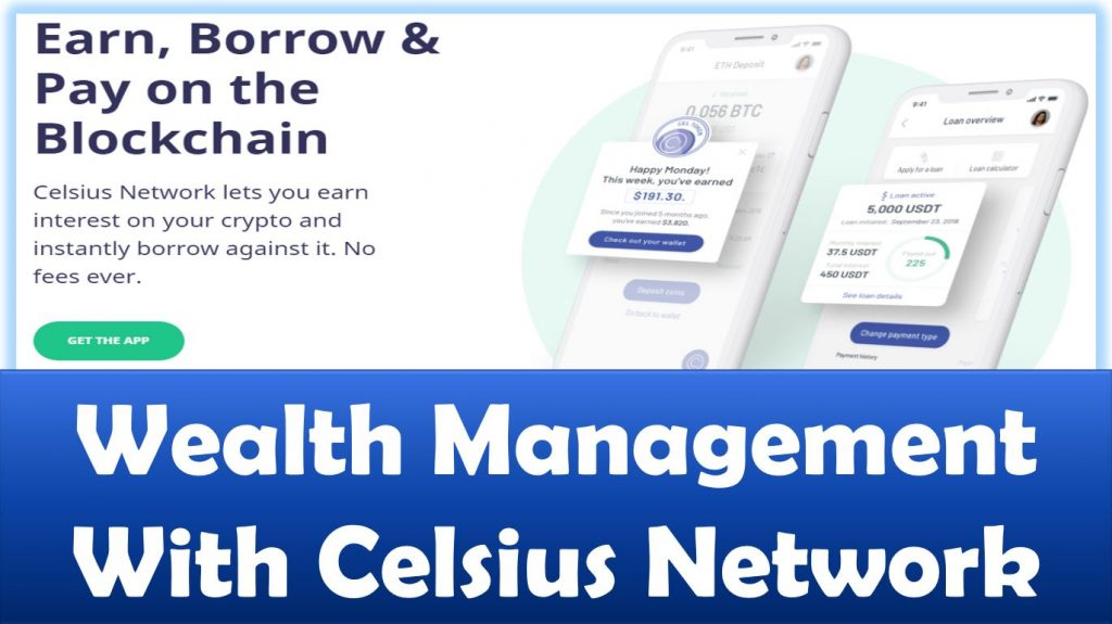 Wealth Management With Celsius Network