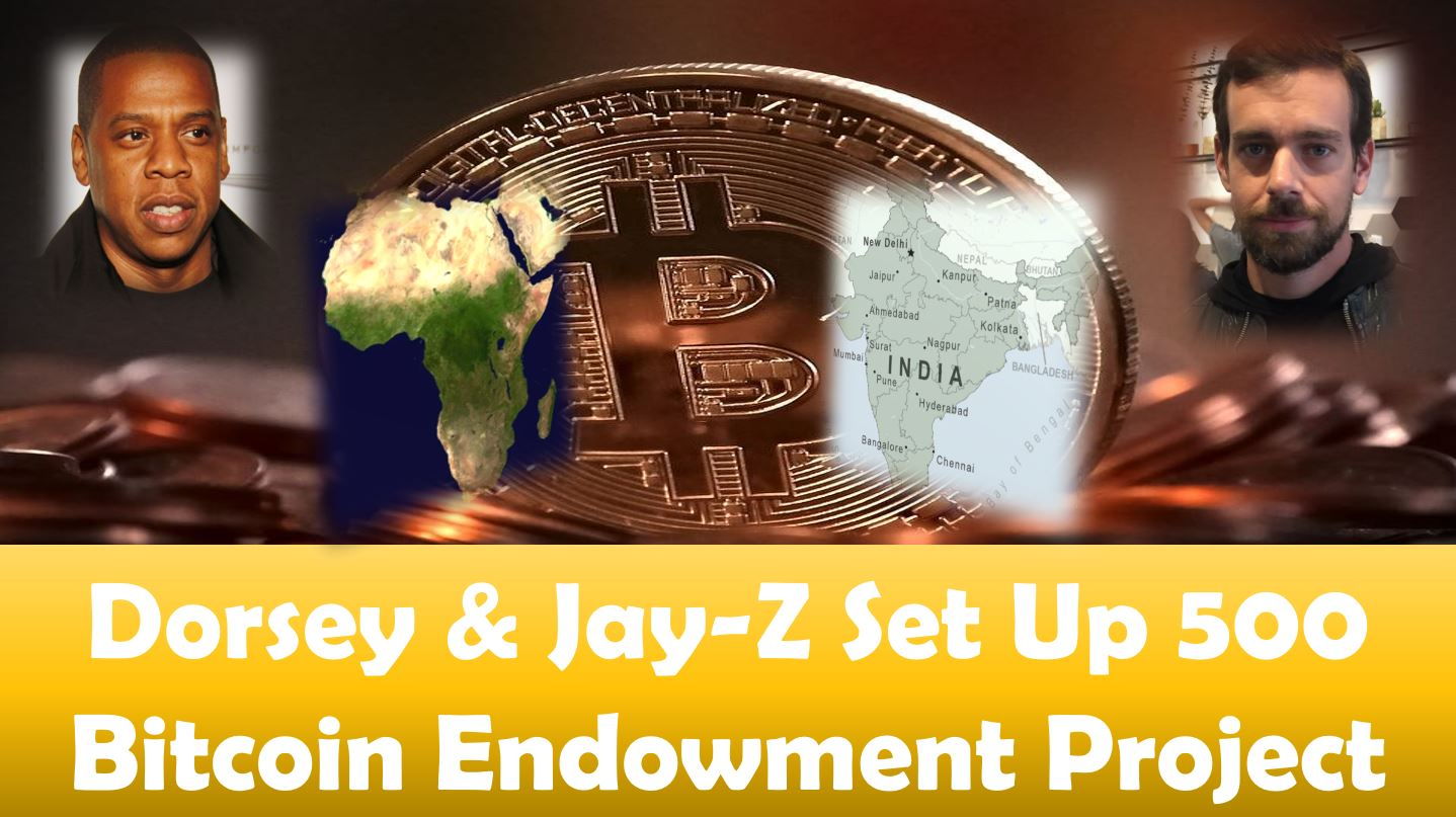 Dorsey and Jay-Z Set Up 500 Bitcoin Endowment Project