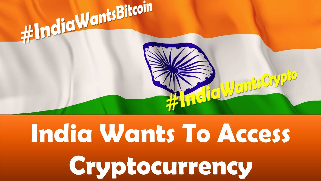 India wants access to cryptocurrency