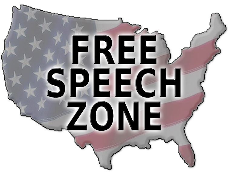 United States is a free speech zone
