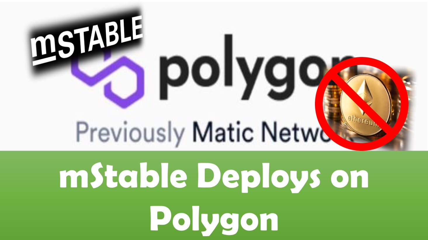 mStable Deploys on Polygon