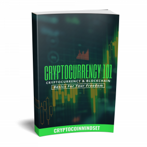 Cryptocurrency 101 paperback left face curl